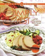 Weight Watchers Simply the Best 250 Prize Winning Recipes Cookbook (B-4)