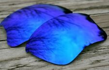 Sky Blue Polarized Custom Replacement Sunglass Lenses for Oakley Flak Jacket XLJ