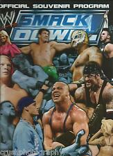 AUTOGRAPHED WWE Wrestling 2003 Smackdown Program Faarooq Ron Simmons APA
