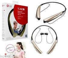 Genunie LG  HBS-750 Tone Pro Bluetooth Stereo Wireless Neck Band Headset Gold