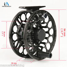 Saltwater Proof Fly Fishing Reel 7/8WT T6 Aluminum CNC -- Left Right hand