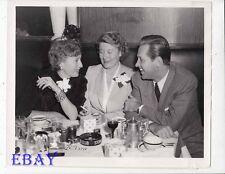 Barbara Stanwyck William Holden Stork Club VINTAGE Ph Mrs Edwin C Marshall candi