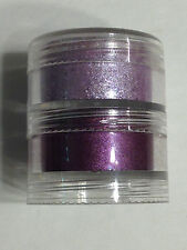 NEW MAC CRUSHED PIGMENTS EYESHADOW STACKED 1! PURPLE SHIMMER COSMETICS MAKEUP
