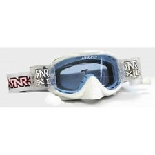 RIP N ROLL FULLY LOADED HYBRID MOTOCROSS ENDURO MX XL GOGGLES  RnR - White