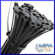 100 x HIGH QUALITY CABLE TIES - 200 x 4.8mm