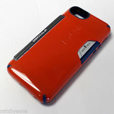 Speck iPhone SE 5 5S Case candyshell Card Red/Blue Shell Cover wallet money clip