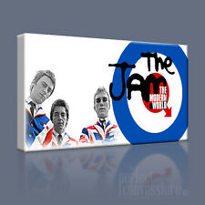 THE JAM AWESOME CLASSIC MODS IN LONDON ICONIC CANVAS PRINT PICTURE Art Williams