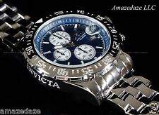 NEW Invicta Mens Stainless Steel Chronograph Maverick's Aviator Watch !!