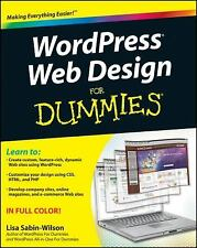 WordPress Web Design For Dummies 2nd Edition Create Site Theme Plugin Tutorial