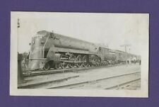 Grand Trunk Western GTW 4-8-2 Steam Locomotive #6408 - VTG B&W Railroad Photo