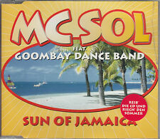 MC SOL Feat. GOOMBAY DANCE BAND – Sun Of Jamaica (CD-Maxi) – Edel/Germany - MINT