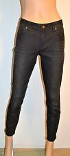 New $198 Marc by Marc Jacobs Lola Crop Black/Sequoia Jeans sz 30