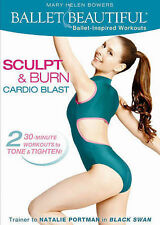 BALLET BEAUTIFUL: SCULPT & BURN CARDIO BLAST - NEW!!! BUY HERE & SAVE!!!