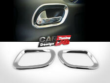 (2) Peugeot 207 Coupe 3D Chrome Interior inner Door Handle Cover Surround