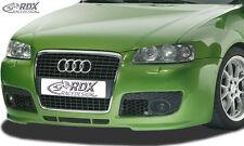 RDX Motorhaubenverlängerung AUDI A3 8L Metall Böser Blick Single Frame RDHV032