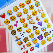 1Pc Random Cut Emoji Smile Face Sticker Lovely 48Die for Phone Laptop Decor Cute