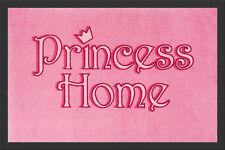 """Fußmatte """"Princess Home"""" pink*rosa*Prinzessin*Türmatte*Fußabstreifer*Fußabtreter"""