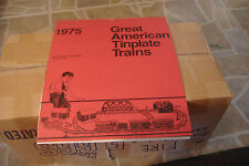 GREAT AMERICAN TINPLATE TRAINS~1975 CALENDER~IRON HORSE HOBBY SHOP PITTSBURGH PA