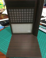 GD-02-1/12: 1/12 Scale Paper-craft Diorama Dojo Scene for 6 inch Action figures
