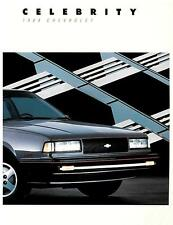 1988 Chevrolet Celebrity Literature-20 pages- Camaro Caprice Malibu