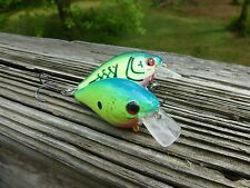 LUCKYCRAFT STYLE SQUAREBILL CRANKBAITS/PAIR OF BLUE CHART & BLUE/CHART CRAWFISH