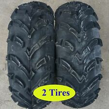 TWO 25x10.00-12 ATV UTV RTV TIRES 25x1000-12 25x10-12 25/10-12 Kenda K586 6ply
