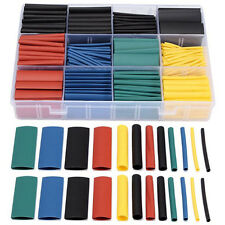 530pcs 2:1 Heat Shrink Tubing Insulation Assortment Wrap Wire Cable Sleeve Kit