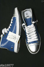 NANNY STATE RETRO HI TOP BASEBALL BOOTS PATENT TRAINERS SNEAKERS SIZE UK 4 - 37