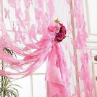 Butterfly Style Tassel String Door Curtain Window Room Divider Scarf Valance M71