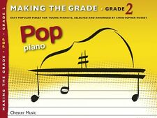 Making The Grade POP Songs Piano Learn to Play Keyboard Music Book Grade 2