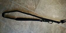 BLACK SINGLE POINT PARACORD GUN SLING AR15 M4 870 700 770