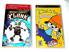 LOT OF 2 **NEW** PSP GAMES Secret Agent Clank / Parappa the Rapper