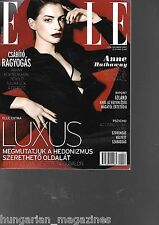 Elle Ungarn / Hungary Hungarian Magazine 2014/12 - Anne Hathaway - Cover Nr 2