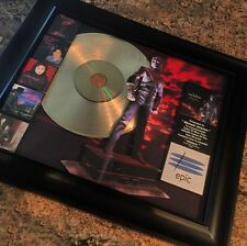 Michael Jackson History Gold Disc Record Album Music Award MTV Grammy RIAA
