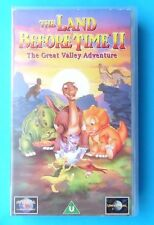 THE LAND BEFORE TIME II THE GREAT VALLEY ADVENTURE VIDEO VHS 1994 70 MINS