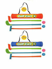 CHILDS Junior Golf Caddy conjunto Bolas clubes Trolley Kids Jardín Exterior Juego Toy
