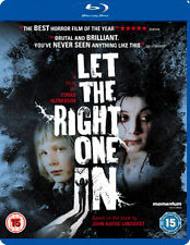 LET THE RIGHT ONE IN - BLU-RAY - REGION B UK
