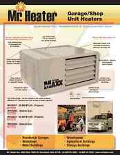 Mr.Heater MHU50 50.000BTU Garage Heater - lp conversion kit included