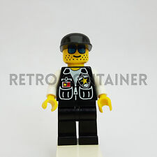 LEGO Minifigures - 1x cop039 - Policeman - Omino Minifig Cop Sheriff Vintage