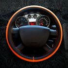 4 Colors Leather DIY Car Steering Wheel Cover Protector With Needles And Thread