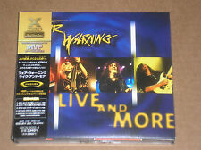 FAIR WARNING - LIVE AND MORE - 2 CD JAPAN COME NUOVO (MINT)