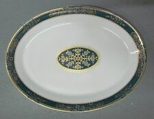 """Royal Doulton China CARLYLE 16"""" Oval Serving Platter  Excellent"""
