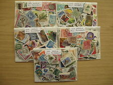STAMP CLEARANCE 500 WORLD STAMPS, OFF PAPER,PREPACKED, ONLY £3.95 POST PAID