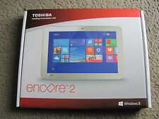 "New Toshiba Encore 2 WT10-A32 10"" touch screen 32GB Windows 8.1 Tablet WiFi Gold"