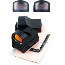 Hunting Micro Reflex Dual Red Green Dot Sight Scope with Picatinny Weaver Rail 8