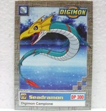 DIGIMON TRADING CARDS - SEADRAMON 21/34 - CARTE UFFICIALI SERIE TV-1a SERIE