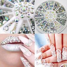3D Glitter Rhinestones Crystal Nail Art Nail Sticker Decor Accessories DIY