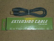 MICROSOFT XBOX 360 WIRED CONTROLLER PAD BREAKAWAY EXTENSION CABLE LEAD BRAND NEW