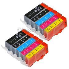10 PATRONEN für PGI 520BK CLI 521BK XL 521C 521 M 521Y 2 Sätze CANON NEU