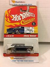 Chevy Nomad #16 * Dark Blue * Classics Hot Wheels * H95